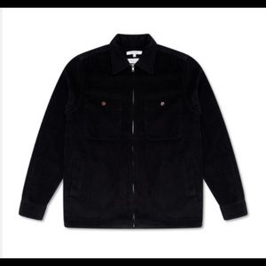 Bellfield Franklyn Cord Zip Up Shirt